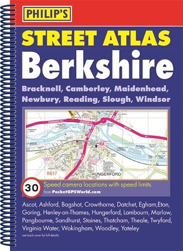 Philip's Street Atlas Berkshire - Philip's Street Atlas (Spiral bound)