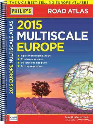 Philip's Multiscale Europe 2015 (Spiral bound)