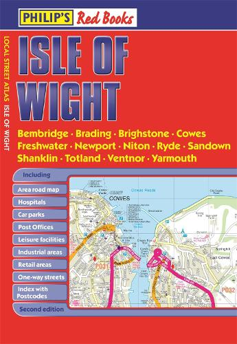 Philip's Isle of Wight - Philip's Red Books (Paperback)