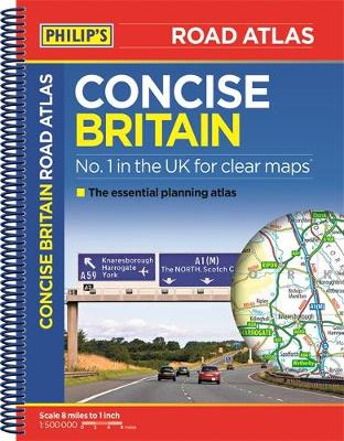 Philip's Concise Atlas Britain: Spiral A5 - Philips Road Atlas (Paperback)