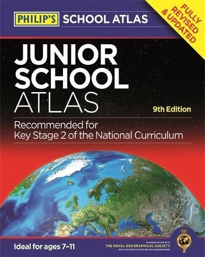 Philip's Junior School Atlas 9th Edition (Paperback)