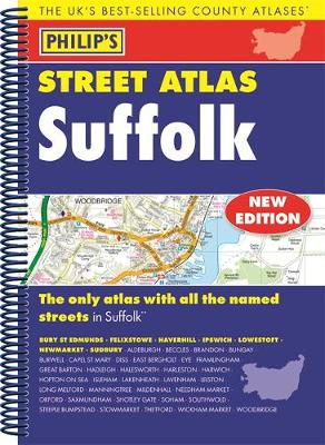 Philip's Street Atlas Suffolk - Philip's Street Atlas (Spiral bound)
