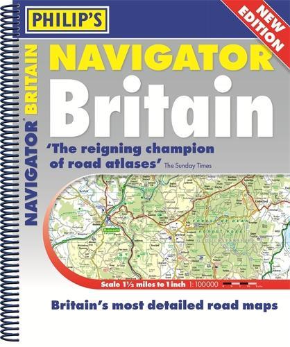 Philip's Navigator Britain Spiral Bound (Spiral bound)