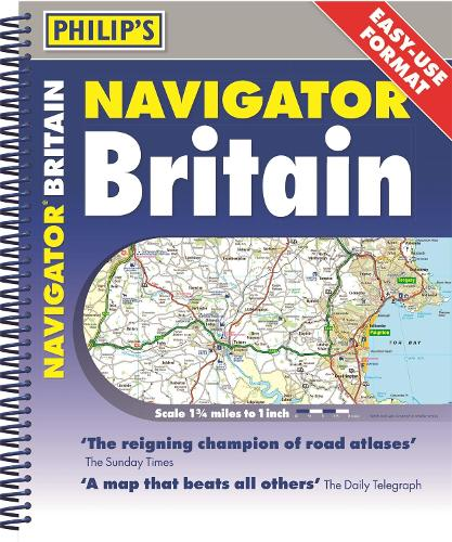 Philip's 2020 Navigator Britain Easy Use Format (Spiral bound)