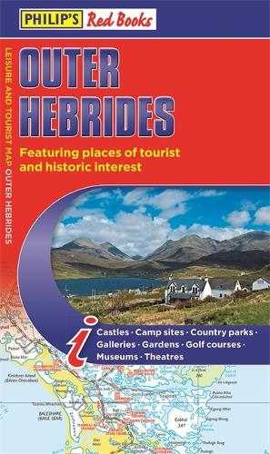 Philip's Outer Hebrides: Leisure and Tourist Map 2020: Leisure and Tourist Map - Philip's Red Books (Paperback)