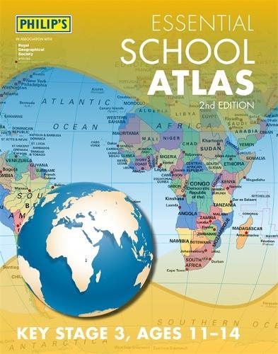 Philip's Essential School Atlas (Paperback)