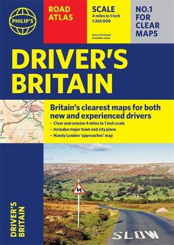 Philip's Driver's Atlas Britain: (A4 Paperback) - Philip's Road Atlases (Paperback)