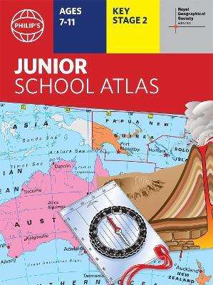 Philip's RGS Junior School Atlas - Philip's World Atlas (Paperback)
