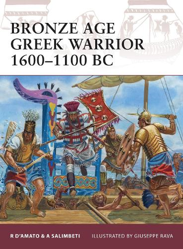 Bronze Age Greek Warrior 1600-1100 BC - Warrior 153 (Paperback)