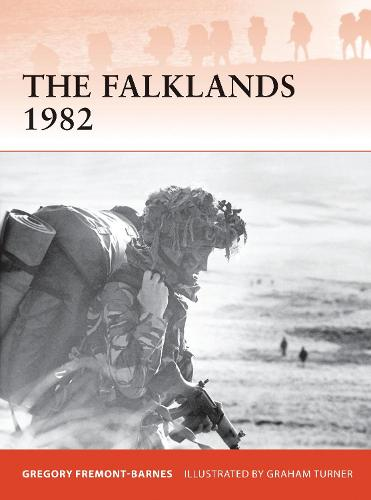 The Falklands 1982: Ground operations in the South Atlantic - Campaign 244 (Paperback)