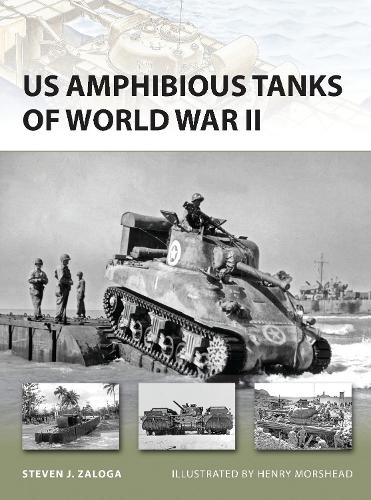 US Amphibious Tanks of World War II - New Vanguard 192 (Paperback)