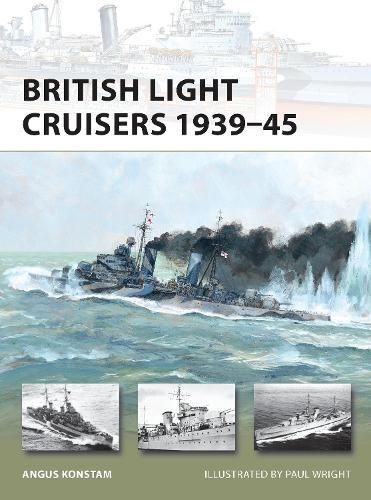 British Light Cruisers 1939-45 - New Vanguard (Paperback)