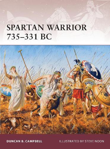 Spartan Warrior 735-331 BC - Warrior 163 (Paperback)