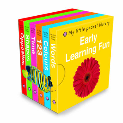 Early Learning Fun Pocket Library - My Little Pocket Library (Board book)