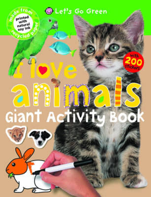 I Love Animals: I Love Padded (Paperback)