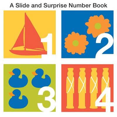 Numbers: Slide & Surprise (Board book)
