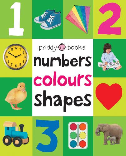 Numbers, Colours, Shapes: First 100 Soft To Touch (Hardback)