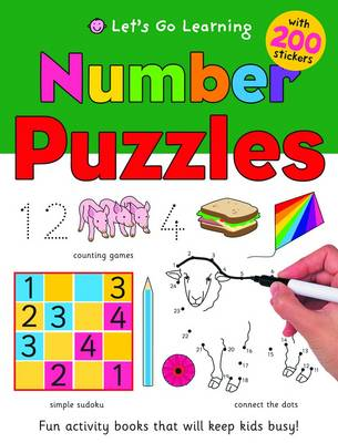 Number Puzzles - Let's Go Learning Big Books (Paperback)