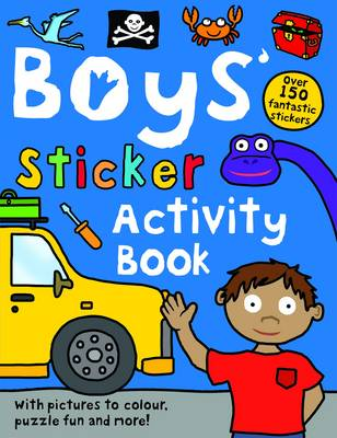 Boys' Sticker Activity: Preschool Sticker Activity (Paperback)