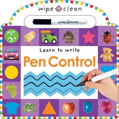 Pen Control: Wipe Clean Learning (Board book)