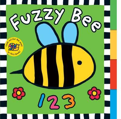 Fuzzy Bee 123: Touch & Feel Board Book (Board book)