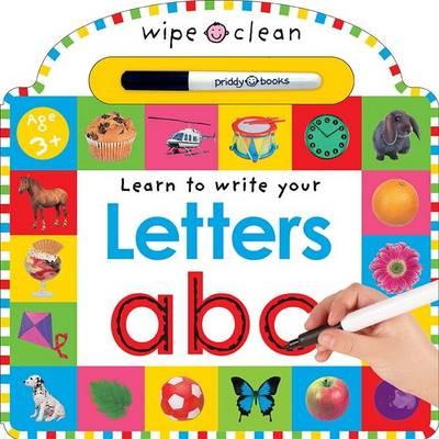 Letters: Wipe Clean Learning (Board book)