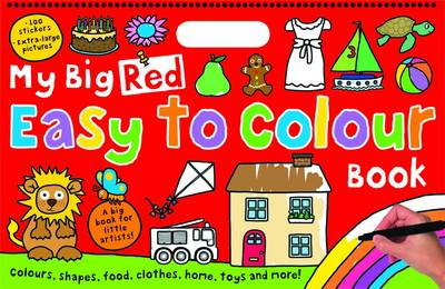 My Big Red Easy to Colour Book: My Big Easy To Colour Books (Paperback)