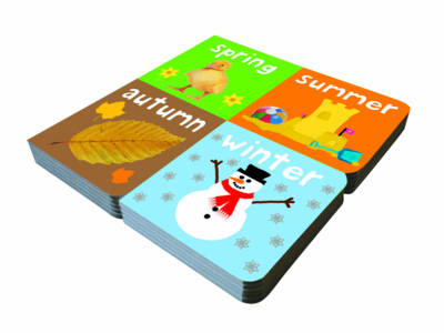 Seasons: My Little Chunky 4 Set (Board book)