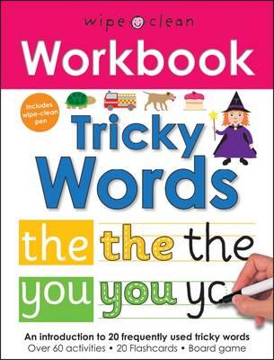 Tricky Words: Wipe Clean Workbooks - Wipe Clean Workbooks (Paperback)