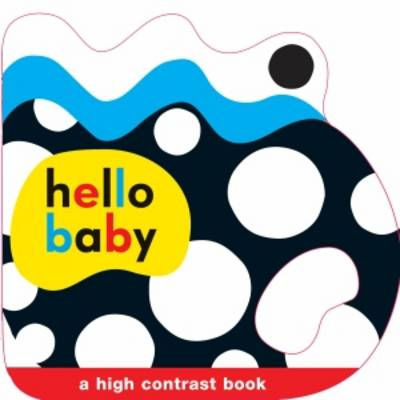 Shaped Grip Book: Hello Baby (Board book)