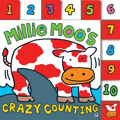 Millie Moo's Crazy Counting Book (Board book)