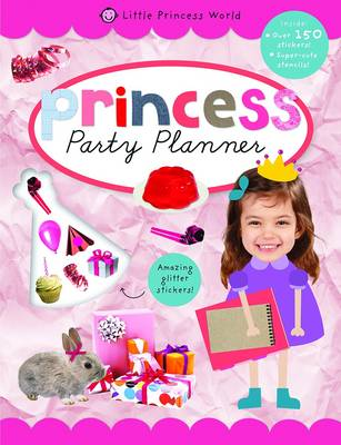 Party Planner: Princess Sticker Books - Princess Sticker Books (Paperback)