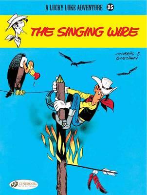 Lucky Luke: Singing Wire v. 35 (Paperback)
