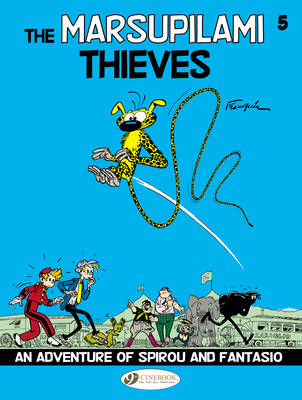 Spirou & Fantasio Vol.5: the Marsupilami Thieves (Paperback)