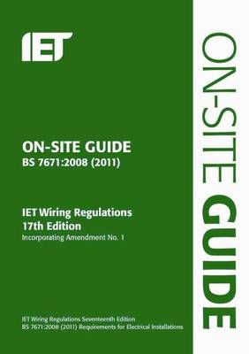 Brilliant On Site Guide Bs 7671 2008 Wiring Regulations Incorporating Wiring Cloud Brecesaoduqqnet