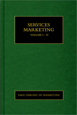 Service Marketing - SAGE Library in Marketing (Hardback)