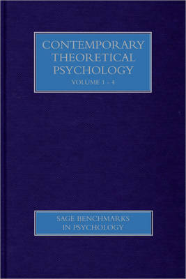 Theoretical Psychology - Contemporary Readings - SAGE Benchmarks in Psychology (Hardback)
