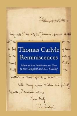 Reminiscences (Paperback)