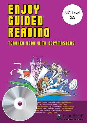 Enjoy Guided Reading: White Teacher Book & CD - Enjoy Guided Reading