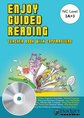 Enjoy Guided Reading: White and Lime Teacher Book & CD - Enjoy Guided Reading