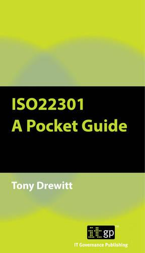 ISO22301: A Pocket Guide (Paperback)