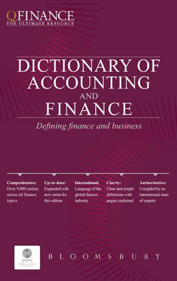 Qfinance: The Dictionary of Accounting and Finance (Paperback)