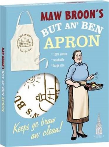 Maw Broon's But An' Ben Apron: A Braw Apron to Go with the Book!