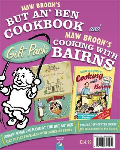 Maw Broon's But An' Ben and Maw Broon's Cooking with Bairns Giftpack (Hardback)