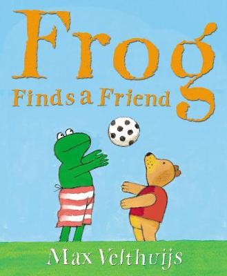 Frog Finds a Friend (Paperback)
