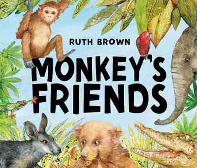 Monkey's Friends (Hardback)