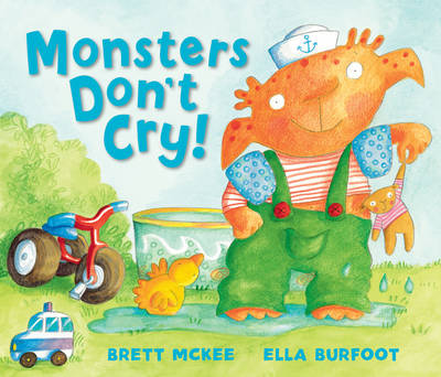 Monsters Don't Cry (Hardback)