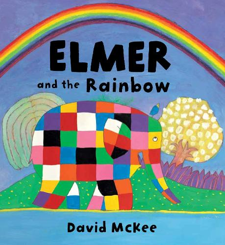 Elmer and the Rainbow Board Book - Elmer Picture Books (Board book)