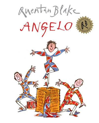 Cover of the book, Angelo.
