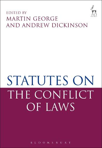 Statutes on the Conflict of Laws (Paperback)
